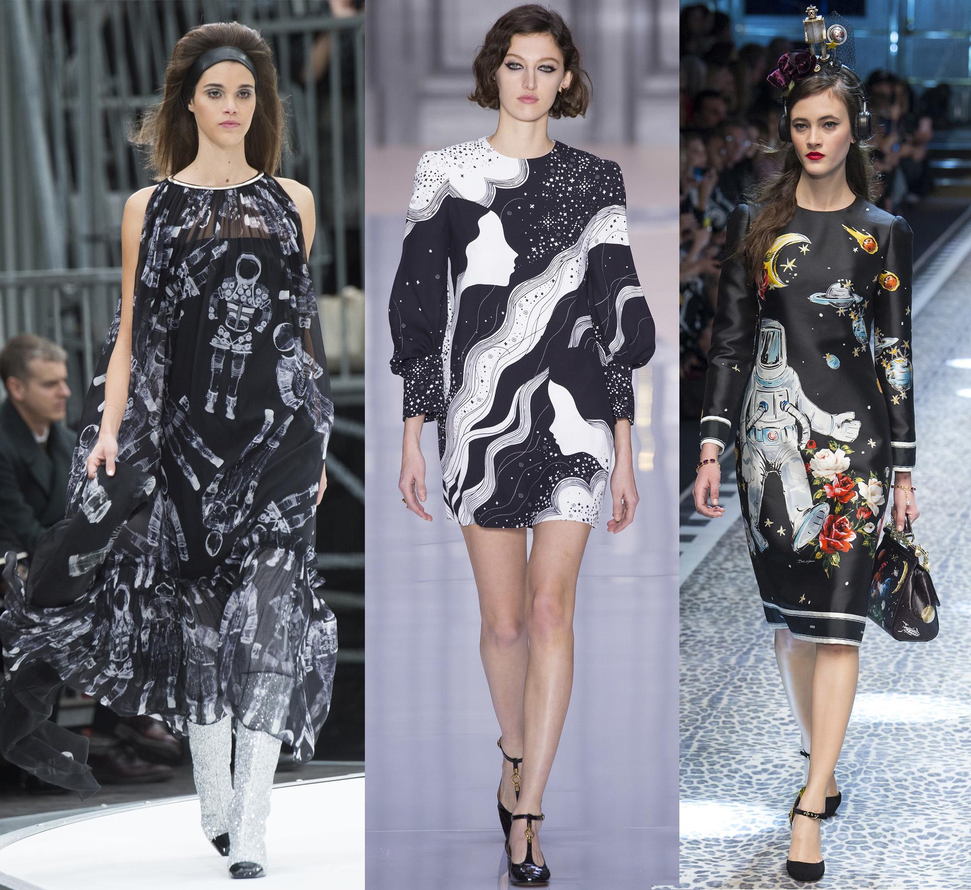 Chanel, Chloé, Dolce & Gabbana