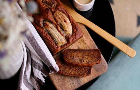 Przepis na wegański chleb bananowy